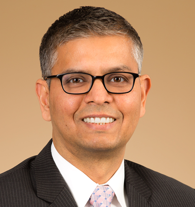 executive portrait of Anchor Capital Advisors employee Neeraj Mahajan, Analyst