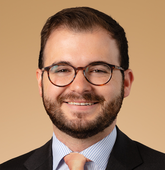 executive portrait of Andrew Burnside, Investment Operations Associate at Anchor Capital Advisors